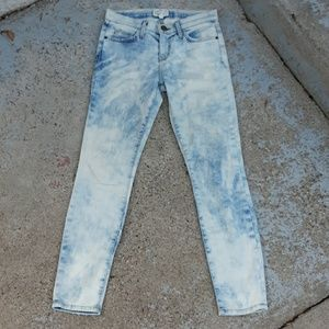 Curren/elliott the stiletto crazy wash jeans